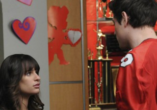 Lea Michele Takes Finn's Football Jersey After Wrapping Glee (PHOTO)