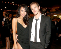 Naya Rivera and Ryan Dorsey