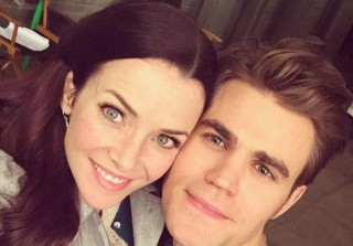 Vampire Diaries\' Paul Wesley and Annie Wersching Take a Selfie (PHOTO)