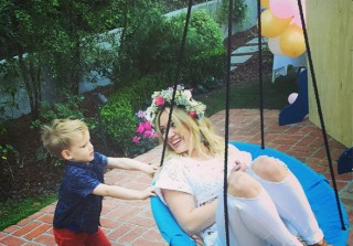 Hilary Duff's Son Luca Turns 3 — See How Big He Is! (VIDEO)