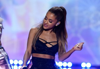 Fan Throws Phone On Stage During Ariana Grande Concert