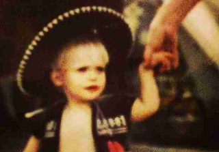 Which Walking Dead Star Rocked a Sombrero as a Toddler?