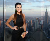 Andi Dorfman at Press Event in NYC on April 29, 2015