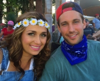 Lacy Faddoul and Marcus Grodd at Stagecoach