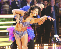 Melissa Rycroft and Tony Dovolani on Dancing With the Stars 10th Anniversary Special