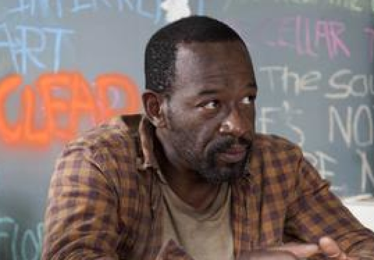 Morgan in The Walking Dead Season 3.