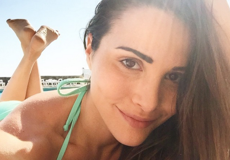 Andi Dorfman on the Beach