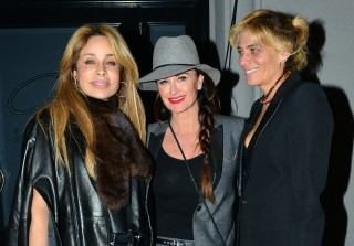Kyle Richards Dines With Faye Resnick in Wake of Sister Kim\'s Arrest (PHOTO)