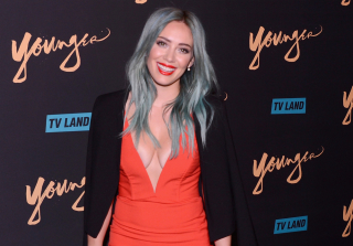 Hilary Duff Flaunts Cleavage in Sexy Red Dress at Younger Premiere (PHOTOS)