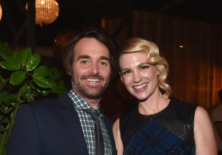 January Jones Dating Last Man on Earth Co-Star Will Forte