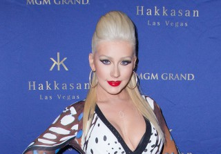 Christina Aguilera Sparks Butt Implant Rumors at Hakkasan Party (PHOTOS)