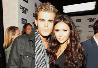 Nina Dobrev Films Final Vampire Diaries Scene With Paul Wesley (PHOTO)