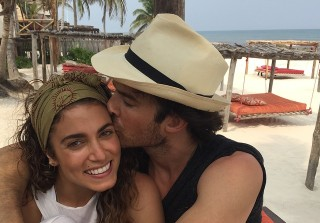 Ian Somerhalder and Nikki Reed Enjoy Honeymoon in Mexico and Brazil