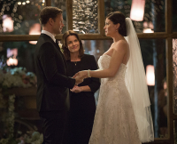 "Alaric and Jo Get Married in Season 6, Episode 21 (I'll Wed You in the Golden Summertime"") of The Vampire Diaries"
