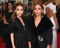 Mary-Kate and Ashley in Dior by John Galliano