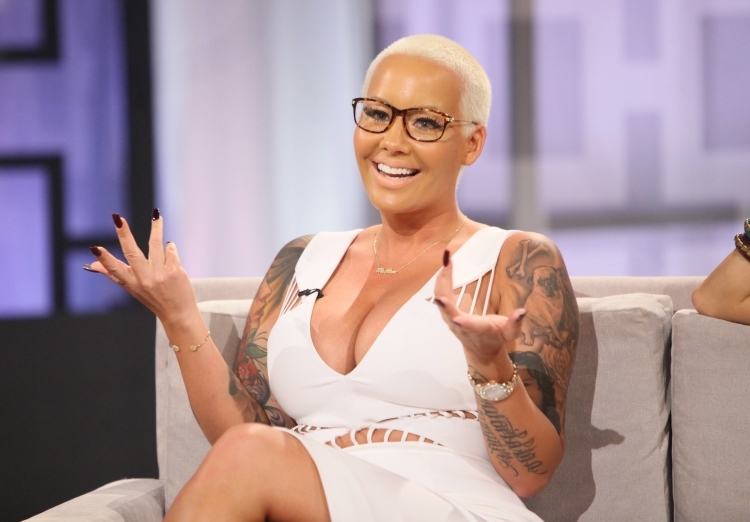 Who is amber rose dating right now