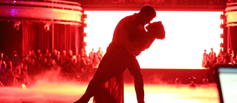 Val Chmerkovskiy, Rumer Willis on Dancing With the Stars