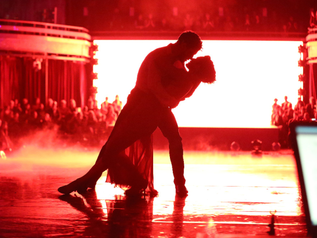 Val Chmerkovskiy, Rumer Willis on Dancing With the Stars