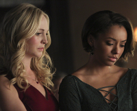 "Caroline and Bonnie Crying in The Vampire Diaries Season 6 Finale (""I'm Thinking of You All The While"")"