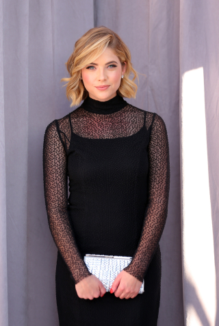Ashley Benson Poses at The Comedy Central Roast Of Justin Bieber