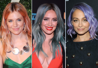 Celebs Do the Colorful Hair Trend: Should You Try It? — Exclusive