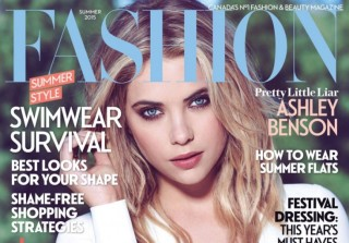 Ashley Benson Shows Off Curves on Fashion Magazine Cover