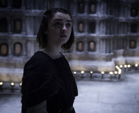Arya on Game of Thrones Season 5, Episode 6