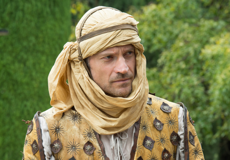 Jaime on Game of Thrones Season 5, Episode 6