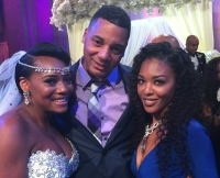 Love & Hip Hop's Yandy Smith With Rich Dollaz and Moniece Slaughter