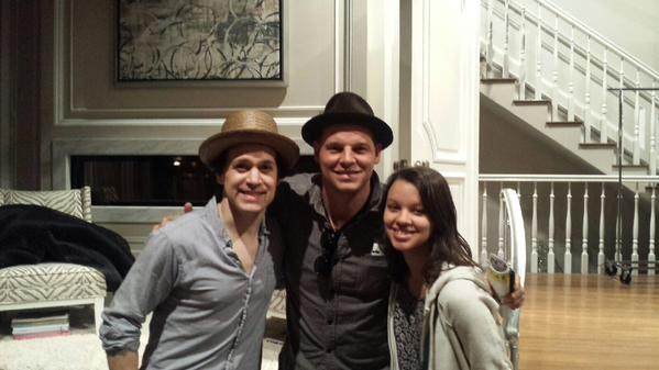 It's Justin Chambers's birthday, and we're celebrating by celebrating his hat fixation!