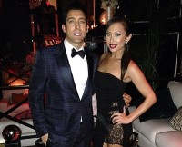 Cheryl Burke and boyfriend JT Torregiani welcome New Year 2015.