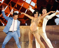 Bruno with Rumer and Val for Season 20 Judges Choice.