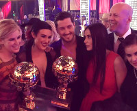 Rumer, Val, Demi Moore and Family After DWTS Season 20 Win