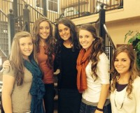 Duggar girls in skirts