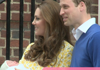 The Royal Family Celebrates Princess Charlotte\'s Christening
