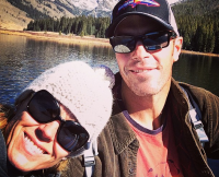 Trista and Ryan Sutter in Colorado