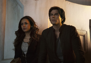 Ian Somerhalder Talks Delena's Future on 'The Vampire Diaries' (VIDEO)
