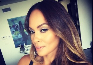 Evelyn Lozada Plays With Son Carl in \