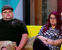 Gary Shirley and Amber Portwood on TMOG Reunion One