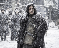 Jon Snow on Game of Thrones Season 5, Episode 9