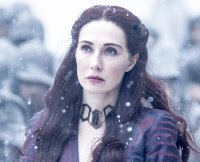 Melisandre on Game of Thrones Season 5, Episode 9