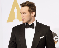 Chris Pratt at 87th Annual Academy Awards - Press Room
