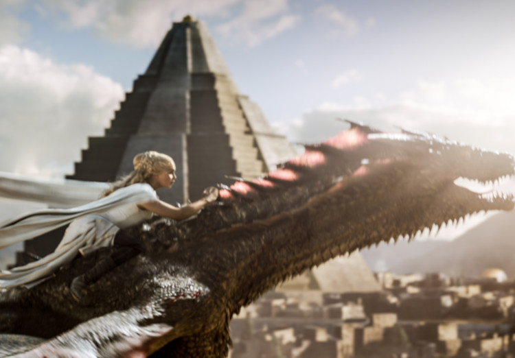Dany Rides Drogon on Game of Thrones Season 5, Episode 9