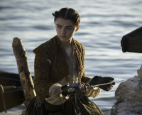 Arya on Game of Thrones Season 5, Episode 9