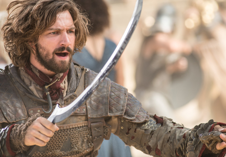 Daario Fight on Game of Thrones Season 5, Episode 9