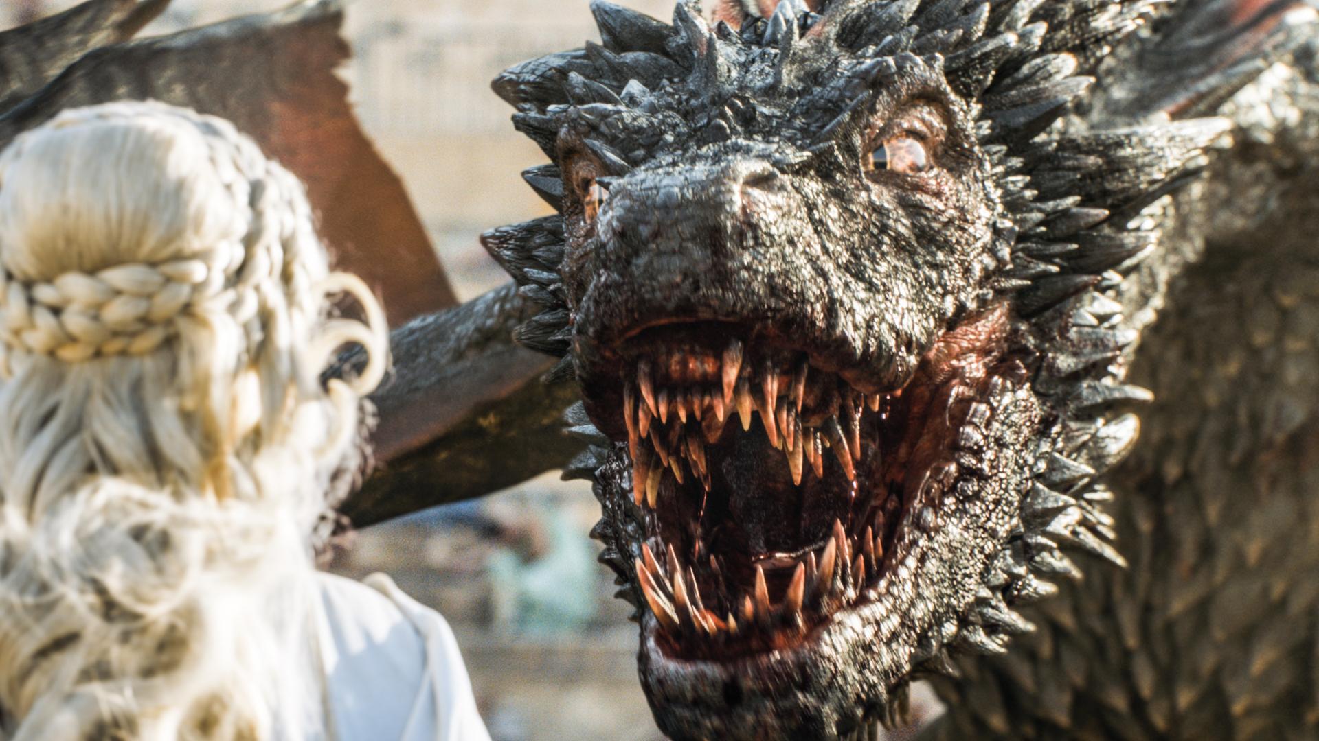 Game of Thrones Season 5, Episode 9 — Dany Takes Flight ...  Game Of Thrones Dragons Season 5