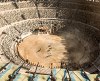 The Fighting Pits on Game of Thrones Season 5, Episode 9
