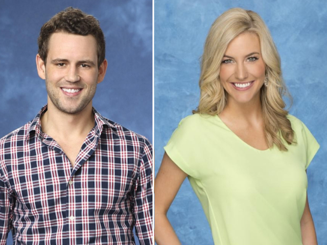 Nick Viall and Whitney Bischoff