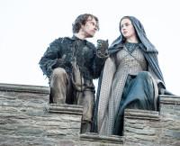 Theon and Sansa Jump