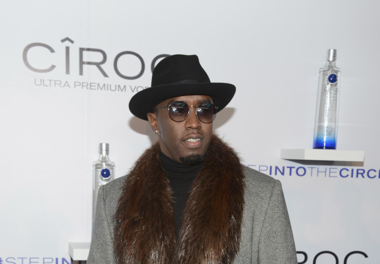 """CIROC's """"Step Into The Circle"""" Launch Hosted By Sean Diddy Combs In Times Square, New York City"""